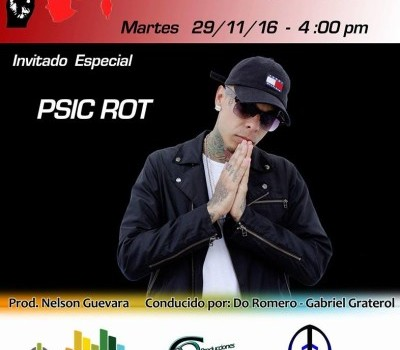 "EL FLOW VENEZUELA – ENTREVISTA A ""PSIC ROT"""