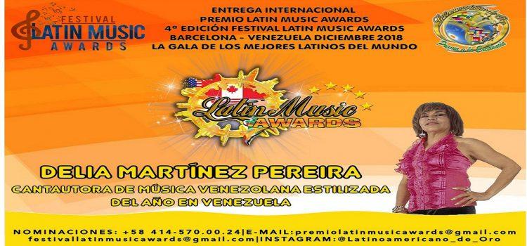 LOS INTÉRPRETE DE LA MÚSICA VENEZOLANA SON GALARDONADOS EN LOS PREMIOS LATÍN MUSIC AWARDS