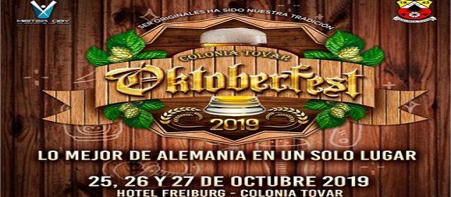 ¡LO MEJOR DE ALEMANIA EN UN SOLO LUGAR! OKTOBERFEST 2019 VUELVE A LA COLONIA TOVAR