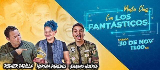¡LOS FANTÁSTICOS DICTARÁN MASTER CLASS MUSICAL ÚNICA E IRREPETIBLE!