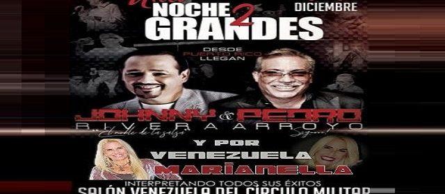 LOS DOS GRANDES DE LA SALSA DIRECTAMENTE DE PUERTO RICO «JHONNY RIVERA Y PEDRO ARROYO»