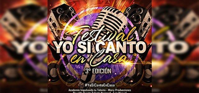 """INICIA """"YO SI CANTO EN CASA"""", LA TERCERA EDICIÓN DEL FESTIVAL ONLINE VENEZOLANO"""
