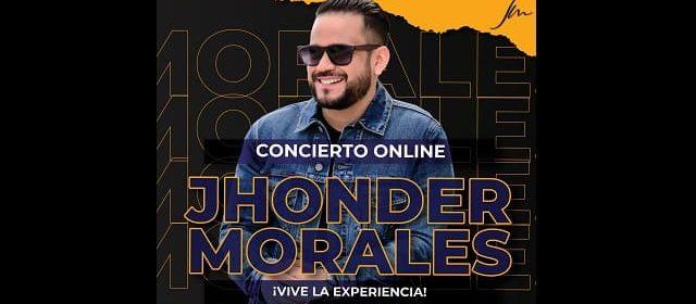 JHONDER MORALES RINDE HOMENAJE A LOS GRANDES DEL VALLENATO