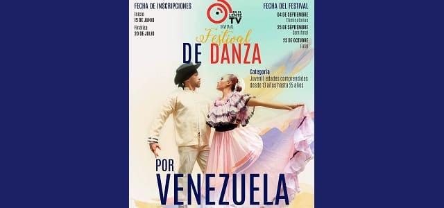"""LLEGA EL PRIMER FESTIVAL VIRTUAL """"DANZAS POR VENEZUELA"""" ORGANIZADO POR """"EN EL LENTE TV"""""""