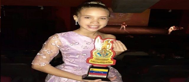 GEORGINA RIVAS: ÚNICA ARTISTA ADOLESCENTE GANADORA DEL PREMIO INTERCONTINENTAL LATINOAMERICANO DE ORO 2019 (CRITICA 24)