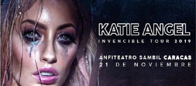 KATIE ANGEL CONFIRMA SU PRIMER CONCIERTO EN VENEZUELA