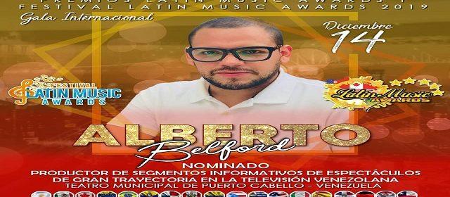 FUNCULATINO RECONOCE LA LABOR DE ALBERTO BELFORD