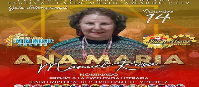 FUNCULATINO RECONOCE LA LABOR DE ANA MARIA MANUEL ROSA