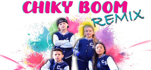 "ANNY PRESENTA EL REMIX DE ""CHIKY BOOM"" JUNTO JHEY PI, ANDREA BELL Y GABRIEL ROSSELL"