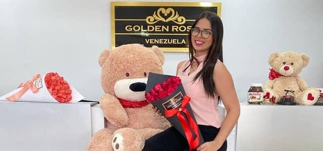 GOLDEN ROSES VENEZUELA DE ANIVERSARIO
