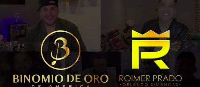 """ROIMER PRADO Y ORLANDO SIMANCAS SE UNEN AL BINOMIO DE ORO """"DESDE CASA"""""""