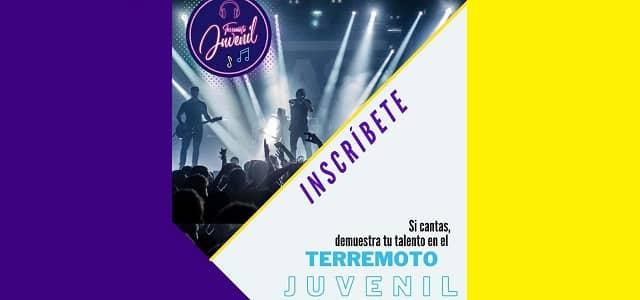 EL TERREMOTO JUVENIL MUSICAL VIENE CON TODO EN EL 2021