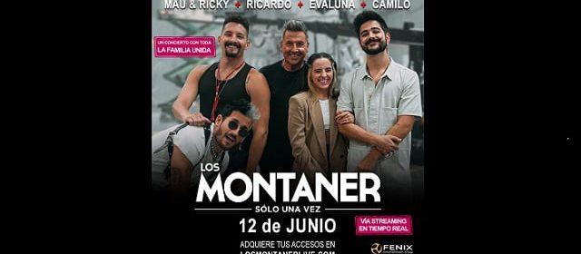 LOS MONTANER ANUNCIAN CONCIERTO STREAMING PARA EL MUNDO ENTERO